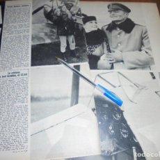 Coleccionismo de Revista Gaceta Ilustrada: RECORTE PRENSA : URSULA ANDRESS, AVIADORA EN SU ULTIMA PELICULA. GACETA ILUSTRADA, NOVBRE 1965. Lote 118642299