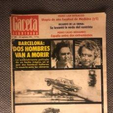 Coleccionismo de Revista Gaceta Ilustrada: GACETA ILUSTRADA. REVISTA. NO.990 (A.1975). Lote 119519139
