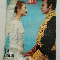 Coleccionismo de Revista Gaceta Ilustrada: GACETA ILUSTRADA N° 806 19-03-1972 LA BODA. Lote 121591487