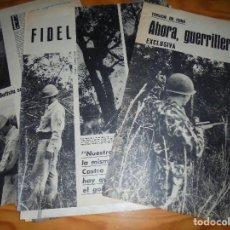 Coleccionismo de Revista Gaceta Ilustrada: RECORTE PRENSA : GUERRILLEROS CONTRA FIDEL. GACETA ILUSTRADA, JULIO 1960. Lote 126338899