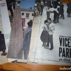 Collectionnisme de Magazine Gaceta Ilustrada: RECORTE PRENSA : VICENTE PARRA, EL CHICO DE OLIVA. GACETA ILUSTRADA, JULIO 1960. Lote 126339191
