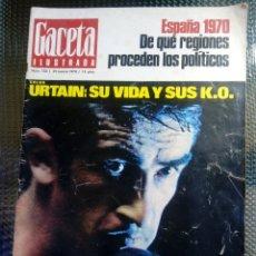 Coleccionismo de Revista Gaceta Ilustrada: GACETA ILUSTRADA Nº 703 - MARZO DE 1970. Lote 129510359