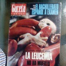 Coleccionismo de Revista Gaceta Ilustrada: GACETA ILUSTRADA Nº 537 - ENERO DE 1967. Lote 129510951