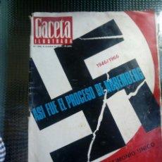 Coleccionismo de Revista Gaceta Ilustrada: GACETA ILUSTRADA Nº 522 - OCTUBRE DE1966. Lote 129532295