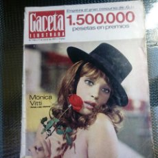 Coleccionismo de Revista Gaceta Ilustrada: GACETA ILUSTRADA Nº 745 - ENERO DE 1971. Lote 129533383
