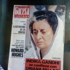 Coleccionismo de Revista Gaceta Ilustrada: GACETA ILUSTRADA Nº 801 - FEBRERO DE 1972. Lote 129533643