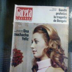 Coleccionismo de Revista Gaceta Ilustrada: GACETA ILUSTRADA Nº 795 - ENERO DE 1972. Lote 129534147