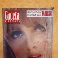 Coleccionismo de Revista Gaceta Ilustrada: GACETA ILUSTRADA N° 672. PORTADA MUERTE SHARON TATE.. Lote 131770277