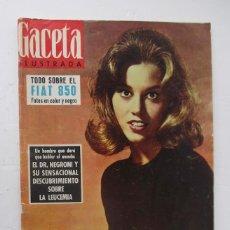 Coleccionismo de Revista Gaceta Ilustrada: GACETA ILUSTRADA - TODO SOBRE EL FIAT 850. Lote 132632802