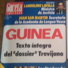 Coleccionismo de Revista Gaceta Ilustrada: Nº 1.046: DOSSIER TREVIJANO 24/10/1976. Lote 133368038