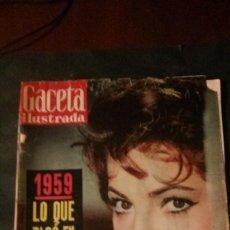 Coleccionismo de Revista Gaceta Ilustrada: SARA MONTIEL-MEDIAS-BARÇA-KUBALA-BAHAMONTES-JOAQUIN BLUME-CHARLTON HESTON. Lote 133704090