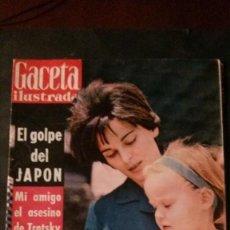 Coleccionismo de Revista Gaceta Ilustrada: MIGUEL BOSE-RAMON MERCADER-HITLER-MISS EUROPA-EDITH PIAF-TROTSKY. Lote 133704426