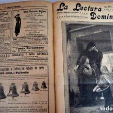 Coleccionismo de Revista Gaceta Ilustrada: LA LECTURA DOMINICAL LIBRO DE 1915 , 825 PAGINAS. Lote 135064690