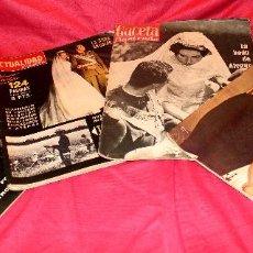 Coleccionismo de Revista Gaceta Ilustrada: ÚNICO LOTE 4 REVISTAS BODA REAL JUAN CARLOS Y SOFIA ( GACETA ILUSTRADA Y ACTUALIDAD ESPAÑOLA). Lote 135719811