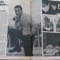 Coleccionismo de Revista Gaceta Ilustrada: GACETA ILUSTRADA-LUIS MARIANO-HERMANAS SIAMESAS-HERMANOS SIAMESES-PUBLICIDAD JABUGO ACEITE OLIVA. Lote 137993038