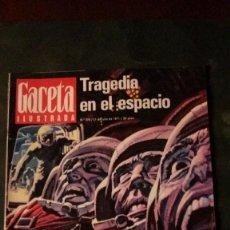 Coleccionismo de Revista Gaceta Ilustrada: ANUNCIO CERVEZA SAN MIGUEL CITROEN SEAT 850 CALMANTE VITAMINADO-SOYUZ XI-ASTURIAS-GUERRA CIVIL . Lote 146765810