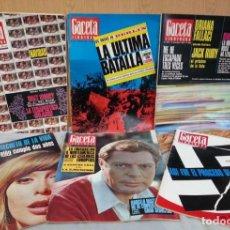 Coleccionismo de Revista Gaceta Ilustrada: REVISTAS GACETA ILUSTRADA. AÑOS 1966. 6 EJEMPLARES DIFERENTES.. Lote 146848550