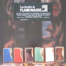Coleccionismo de Revista Gaceta Ilustrada: RECORTE HOJA PUBLICIDAD 1973 FLAMINAIRE 20. FLAMAGAS. Lote 146955922