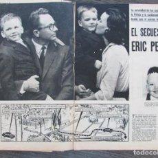 Coleccionismo de Revista Gaceta Ilustrada: RECORTE ACTUALIDAD ESPAÑOLA 433 1969 EL SECUESTRO DE ERIC PEUGEOT. 4 PGS. Lote 146957126