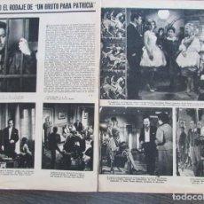 Coleccionismo de Revista Gaceta Ilustrada: RECORTE ACTUALIDAD ESPAÑOLA 433 1969 UN BRUTO PARA PATRICIA. JOSE SUAREZ, SUSANA CAMPOS.... Lote 146957262