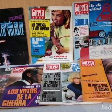 Coleccionismo de Revista Gaceta Ilustrada: REVISTAS GACETA ILUSTRADA. AÑOS 1966. 7 EJEMPLARES DIFERENTES.. Lote 146998414