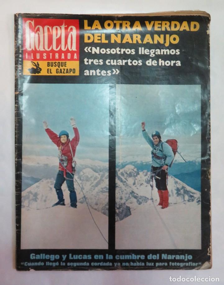 GACETA ILUSTRADA Nº 856 4 DE MARZO DE 1973 (Coleccionismo - Revistas y Periódicos Modernos (a partir de 1.940) - Revista Gaceta Ilustrada)