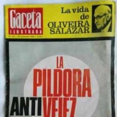 Coleccionismo de Revista Gaceta Ilustrada: REVISTA GACETA ILUSTRADA N 625 1968. Lote 149814194