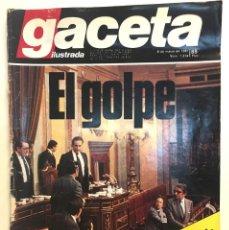 Coleccionismo de Revista Gaceta Ilustrada: GACETA ILUSTRADA. Nº 1724. 8 DE MARZO DE 1981. EL GOLPE (23-F).. Lote 149867794