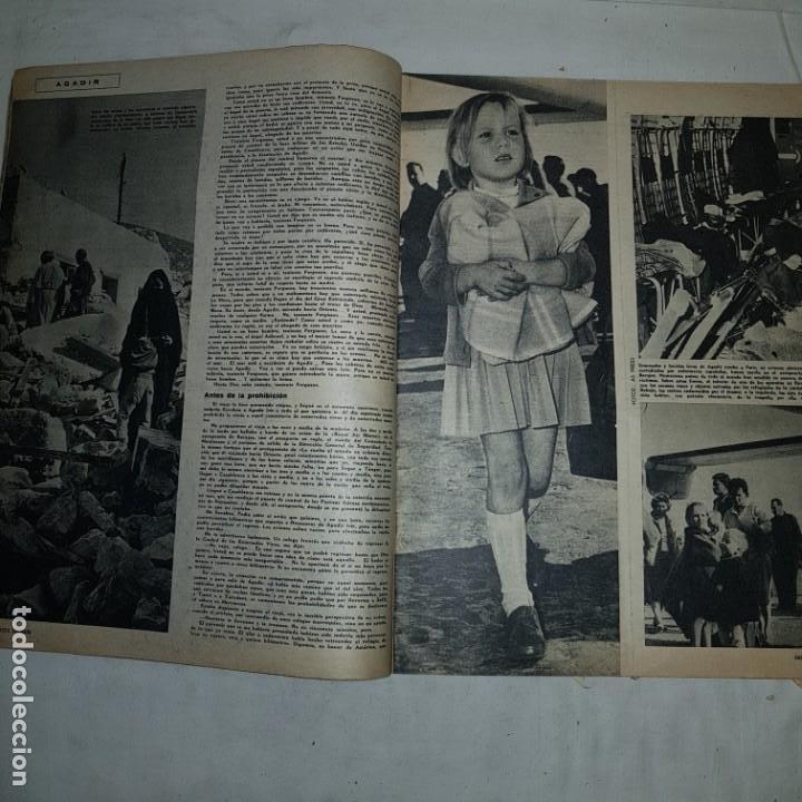 Coleccionismo de Revista Gaceta Ilustrada: GACETA ILUSTRADA . Nº 179 . 1960 15 SEGUNDOS: EL FIN DE UNA CIUDAD AGADIR - Foto 3 - 153489486