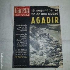 Coleccionismo de Revista Gaceta Ilustrada: GACETA ILUSTRADA . Nº 179 . 1960 15 SEGUNDOS: EL FIN DE UNA CIUDAD AGADIR. Lote 153489486