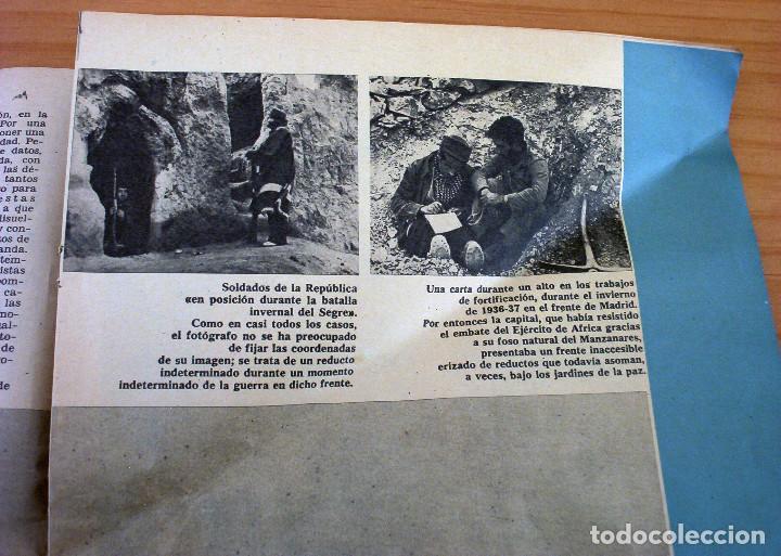 Coleccionismo de Revista Gaceta Ilustrada: LA GUERRA DE ESPAÑA - LAS IMPRESIONANTES FOTOS DE ROBERT CAPA - GACETA ILUSTRADA - Foto 2 - 154423358