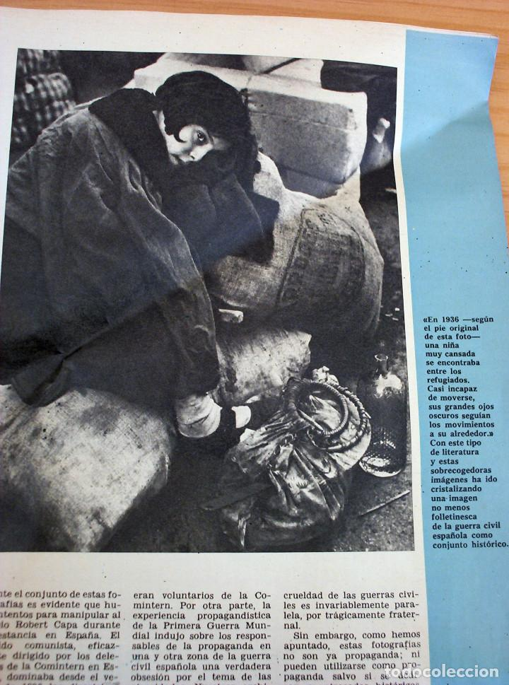 Coleccionismo de Revista Gaceta Ilustrada: LA GUERRA DE ESPAÑA - LAS IMPRESIONANTES FOTOS DE ROBERT CAPA - GACETA ILUSTRADA - Foto 3 - 154423358