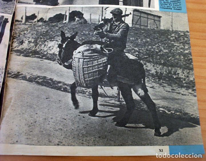 Coleccionismo de Revista Gaceta Ilustrada: LA GUERRA DE ESPAÑA - LAS IMPRESIONANTES FOTOS DE ROBERT CAPA - GACETA ILUSTRADA - Foto 8 - 154423358