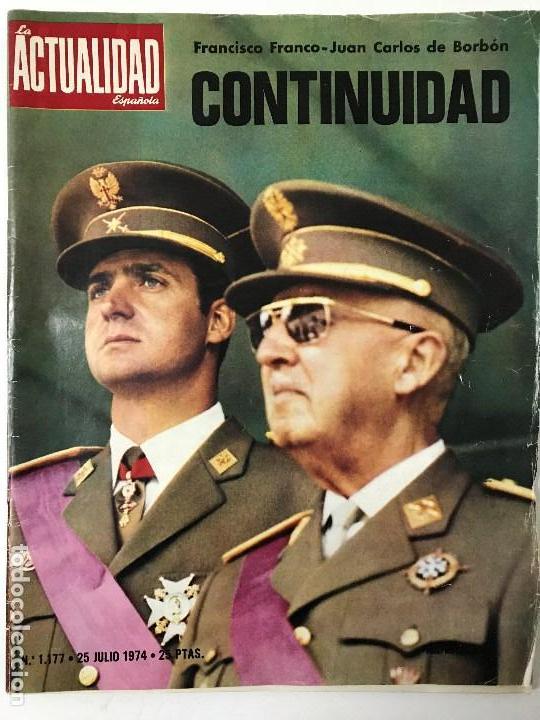 Coleccionismo de Revista Gaceta Ilustrada: Fidel Castro. Franco, Juan Carlos I. La Actualidad Española. Gaceta Ilustrada. - Foto 4 - 157964634