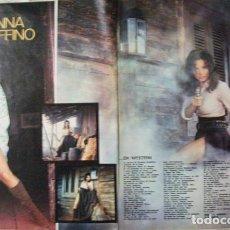 Coleccionismo de Revista Gaceta Ilustrada: RECORTE GACETA LUSTRADA Nº 839 1972 ROSANNA SCHIAFFINO, PORTADA Y 2 PGS. Lote 158016386
