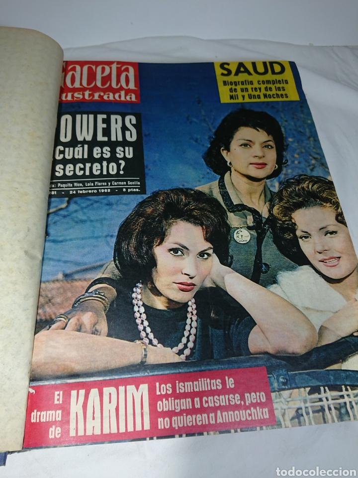 Coleccionismo de Revista Gaceta Ilustrada: Tomo La Gaceta Ilustrada, 1962, Del número 281 al 295 inclusive - Foto 3 - 158611682