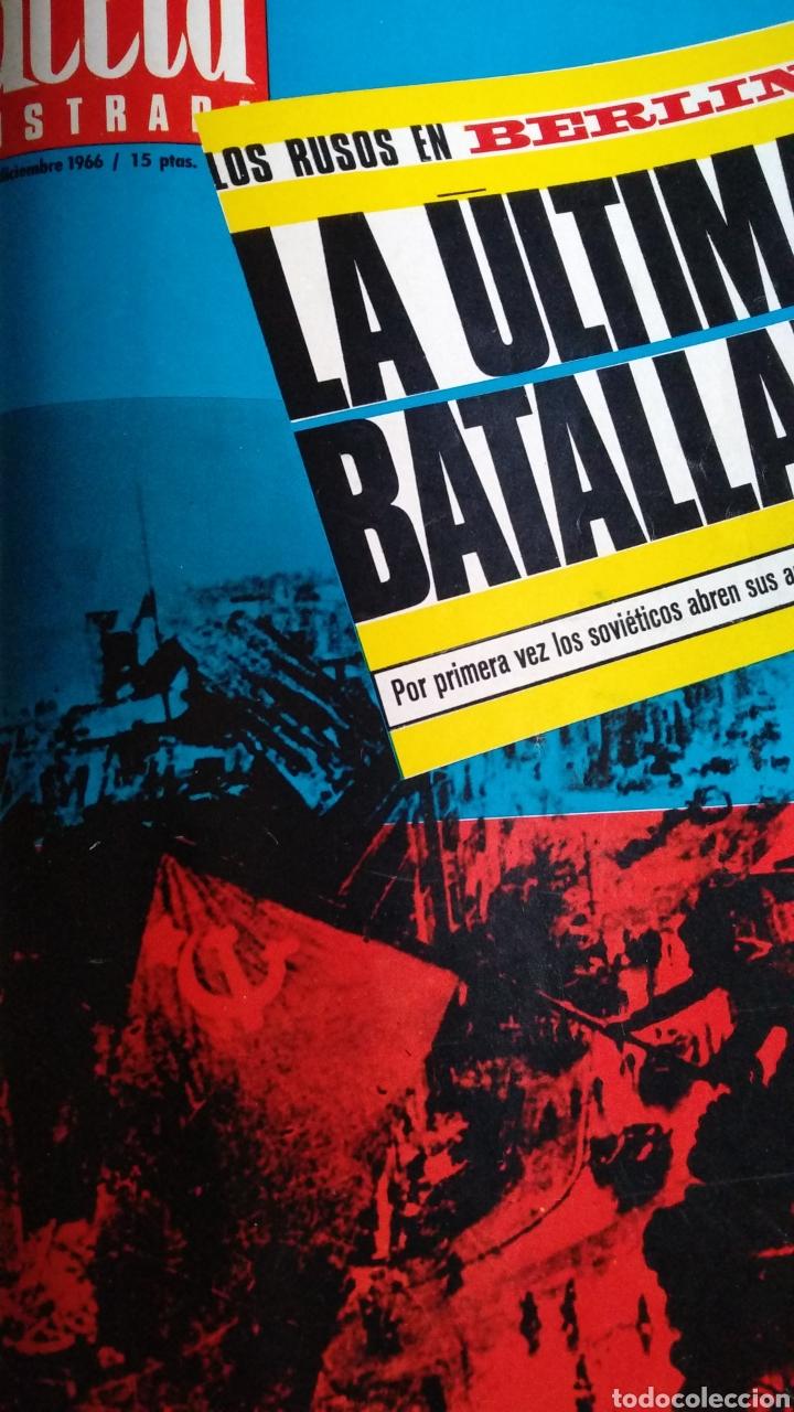 COMPILACIÓN ENCUADERNADA DE 8 EJEMPLARES DE LA GACETA ILUSTRADA (Coleccionismo - Revistas y Periódicos Modernos (a partir de 1.940) - Revista Gaceta Ilustrada)