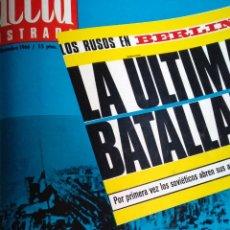 Coleccionismo de Revista Gaceta Ilustrada: COMPILACIÓN ENCUADERNADA DE 8 EJEMPLARES DE LA GACETA ILUSTRADA. Lote 159411949