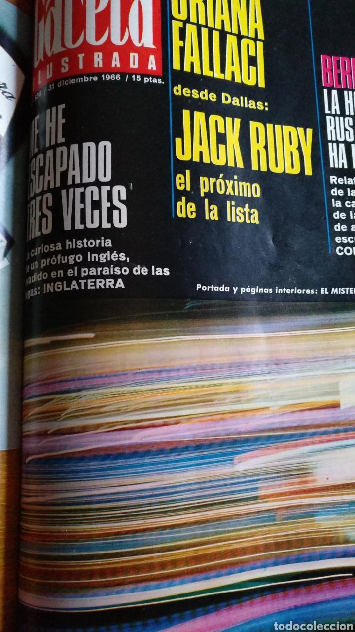 Coleccionismo de Revista Gaceta Ilustrada: COMPILACIÓN ENCUADERNADA DE 8 EJEMPLARES DE LA GACETA ILUSTRADA - Foto 7 - 159411949
