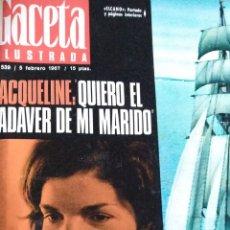 Coleccionismo de Revista Gaceta Ilustrada: COMPILACIÓN ENCUADERNADA DE 8 EJEMPLARES DE LA GACETA ILUSTRADA. Lote 159420136