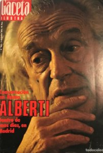1976 Gaceta ilustrada N.1052 Rafael Alberti, Maribel Martin, Massiel