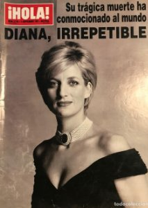 1997 ¡HOLA!. Nº 2770. Diana, irrepetible. 11 septiembre 1997