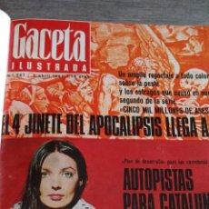 Coleccionismo de Revista Gaceta Ilustrada: COMPILACIÓN ENCUADERNADA DE 8 EJEMPLARES DE LA GACETA ILUSTRADA. Lote 159498062
