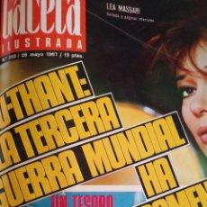 Coleccionismo de Revista Gaceta Ilustrada: COMPILACIÓN ENCUADERNADA DE 8 EJEMPLARES DE LA GACETA ILUSTRADA. Lote 159499736