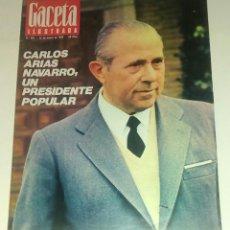 Coleccionismo de Revista Gaceta Ilustrada: GACETA ILUSTRADA NUM. 901, 13 ENERO 1974.. Lote 161187206