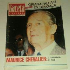 Coleccionismo de Revista Gaceta Ilustrada: GACETA ILUSTRADA NUM. 796, 9 ENERO 1972.. Lote 161407690