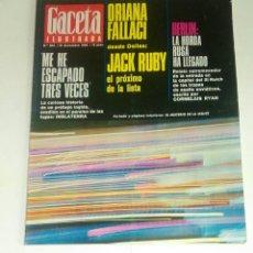 Coleccionismo de Revista Gaceta Ilustrada: GACETA ILUSTRADA NUM. 534, 31 DICIEMBRE 1966.. Lote 161477578