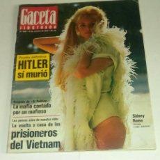 Coleccionismo de Revista Gaceta Ilustrada: GACETA ILUSTRADA NUM. 836, 15 OCTUBRE 1972.. Lote 161480214