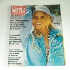 Coleccionismo de Revista Gaceta Ilustrada: GACETA ILUSTRADA NUM. 973, 1 JUNIO 1975.. Lote 161480726