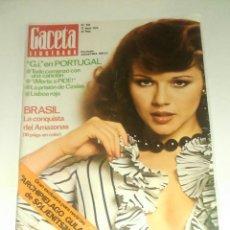 Coleccionismo de Revista Gaceta Ilustrada: GACETA ILUSTRADA NUM. 918, 12 MAYO 1974.. Lote 161485650